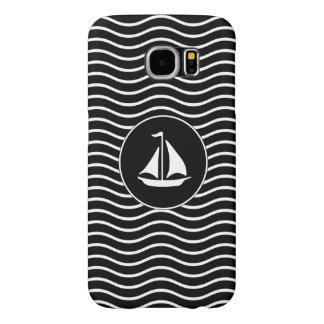 Modern Sailing Theme Samsung Galaxy S6 Cases