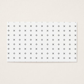 Modern simple blue hue shapes pattern professional business card