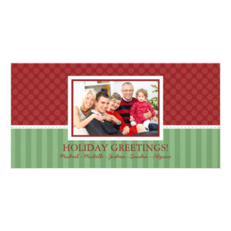 Modern Style Christmas Family Photo Cards