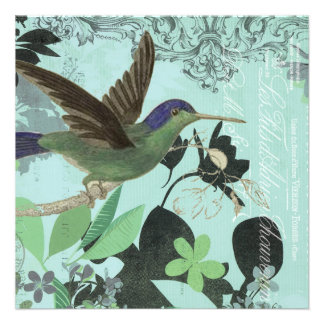 Modern Trends Hummingbird Personalized Announcements