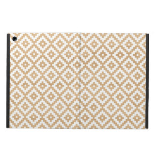 Modern tribal wood geometric chic andes pattern case for iPad air