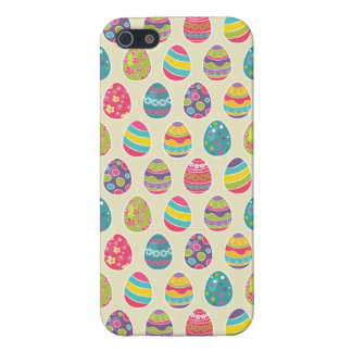 Modern Vintage Easter Eggs Decoration Pattern iPhone 5/5S Covers