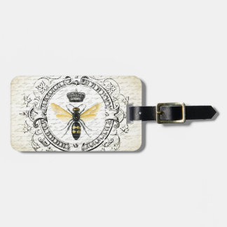 MODERN VINTAGE french queen bee Luggage Tag
