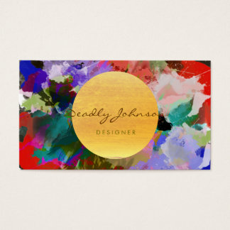 Modern Watercolor Abstract Elegant Cool
