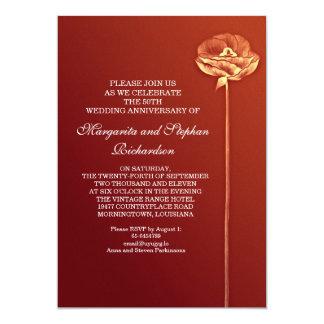 modern wedding anniversary card