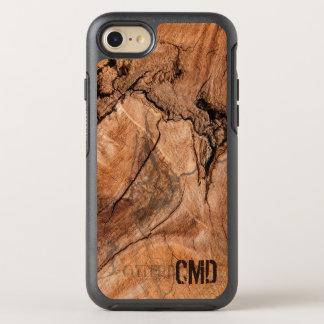 Modern Wood Knots OtterBox Symmetry iPhone 7 Case