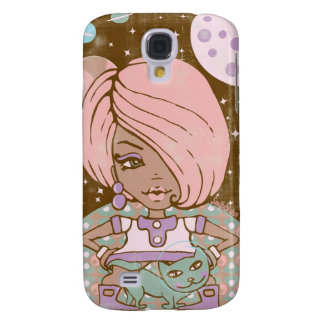 MODETTE AND SPACECAT GALAXY S4 CASE