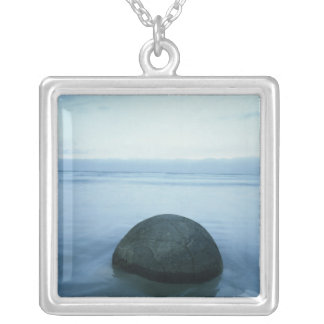Moeraki Boulders Silver Plated Necklace