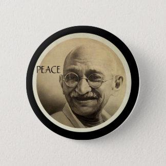Mohandas Gandhi 6 Cm Round Badge