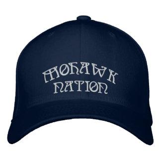 Mohawk Embroidered Baseball Cap Mohawk Nation Cap