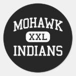 Mohawk - Indians - High School - Marcola Oregon Stickers