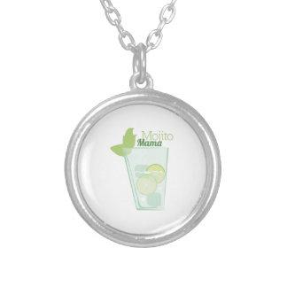 Mojito Mama Round Pendant Necklace