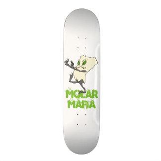 """MolarMafia"" Zombie Tooth® Skateboard Deck 7 3/4"""