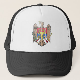 Moldova Coat Of Arms Trucker Hat