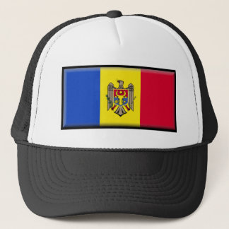 Moldova Flag Trucker Hat