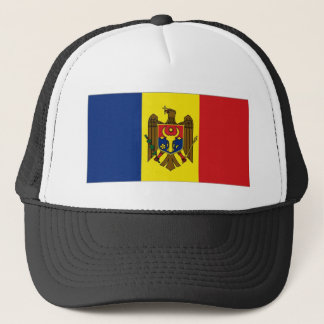Moldova National Flag Trucker Hat