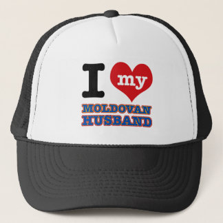 Moldovan I heart designs Trucker Hat
