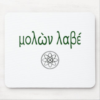 Molon Labe (Come and Take Them) Lower case Mouse Pad