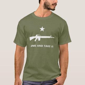 MOLON LABE M16 GONZALES FLAG T-Shirt