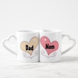 Mom and Dad Coffee Coffee Mug Set