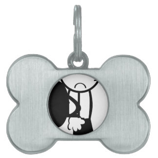 mom dad sister brother office home party shower pet tag