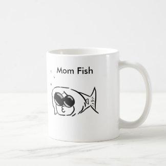 mom fish mug