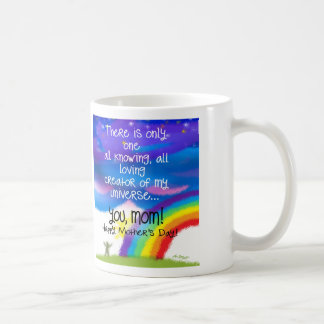 "MOM-My loving ""creator"" is you! Coffee Mug"
