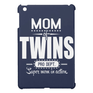 Mom Of Twins Pro Dept. Super Mom In Action Case For The iPad Mini