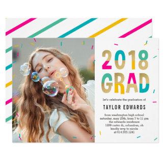 Moment Of Joy Graduation Announcement Invitation