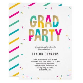 Moment Of Joy Graduation Party Invitation