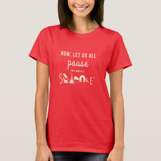 Moment of Science Red T-Shirt