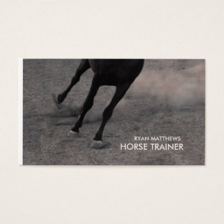 222 horse trainer business cards and horse trainer for Horse trainer business cards