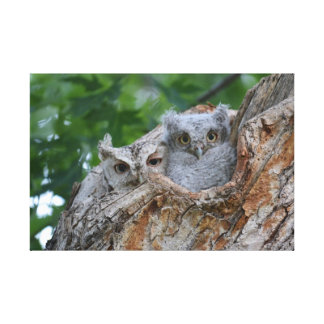 Momma and her Baby Canvas Print