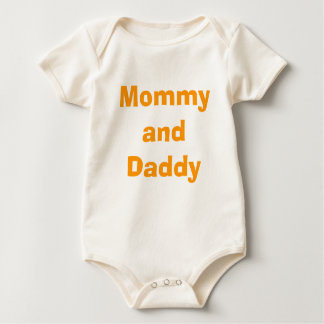 Mommy and Daddy FYI I Didn't Eat Yet! Baby Bodysuit