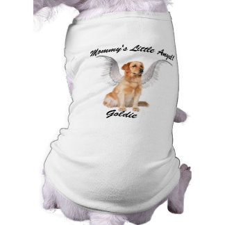 Mommy's Little Angel with Dog's Name Shirt