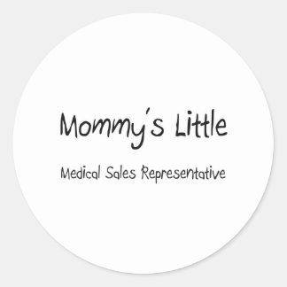 Mommys Little Medical Sales Representative Sticker