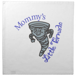 Mommys Little Tornado Napkin