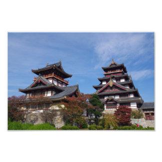 Momoyama Castle in Fushimi Kyoto Photo Art