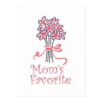 MOMS FAVORITE POSTCARD