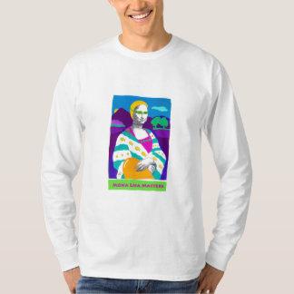 Mona Lisa 2009 long sleeved T-Shirt