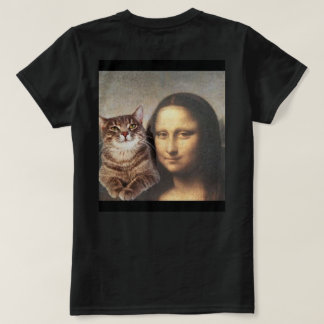 Mona Lisa and cat pal T-Shirt