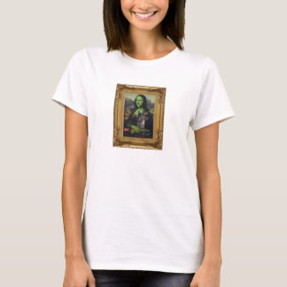 Mona Lisa as the wicked witch T-Shirt