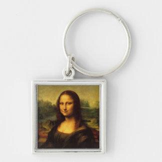 Mona Lisa by  Leonardo Da Vinci Key Ring