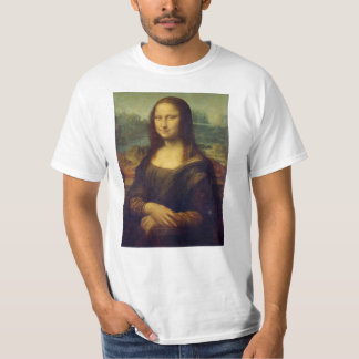 Mona Lisa by Leonardo Da Vinci T-Shirt