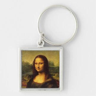 Mona Lisa by Leonardo DE Vinici Key Ring