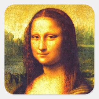 Mona Lisa gift Square Sticker