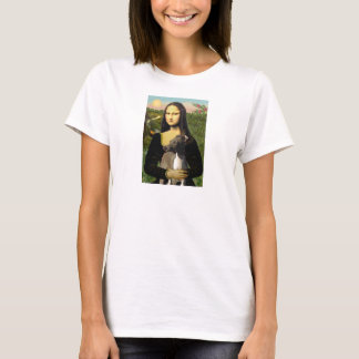 Mona Lisa - Italian Greyhound T-Shirt