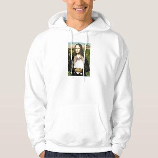 Mona Lisa - Japanese Chin (L1) Hoodie
