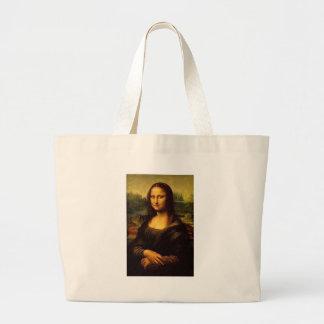Mona Lisa Large Tote Bag