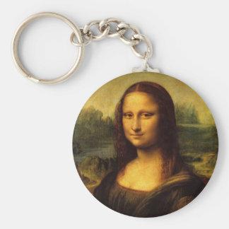 Mona Lisa Leonardo Da Vinci Key Ring